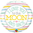 I LOVE YOU TO THE MOON AND BACK BALLOON